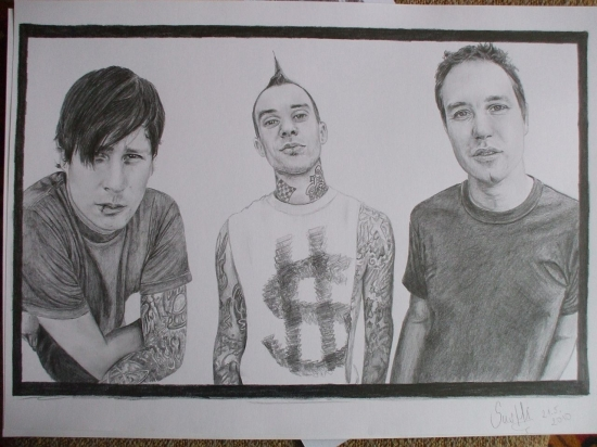Blink-182 by susHi19